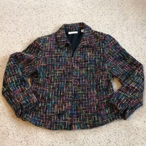 Multi Colored Knit Jacket